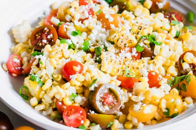 Roasted Corn and Tomato Salad Photo