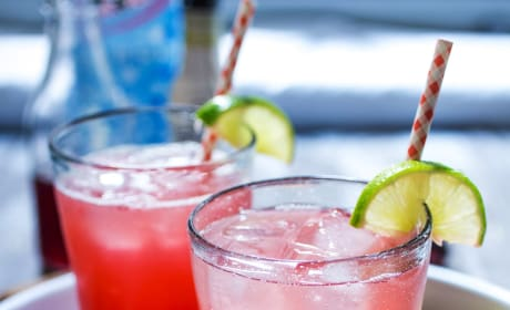 Cherry Lime Rickey with Gin Image