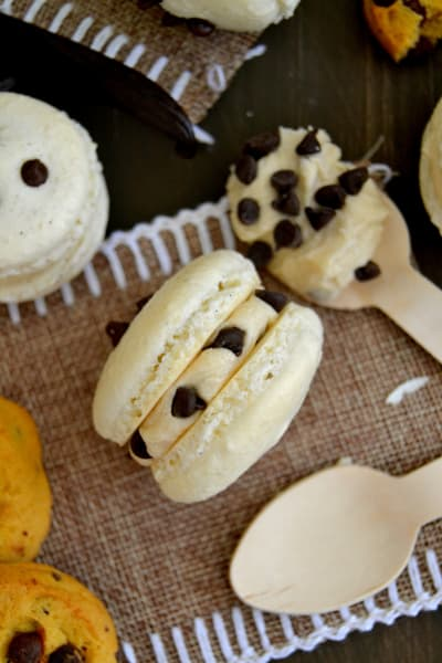 Cookie Dough Macarons Picture