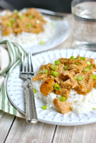 Crockpot Orange Chicken Picture