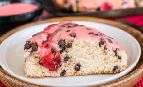 Cherry Chocolate Chip Scones Recipe
