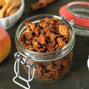 Homemade granola photo