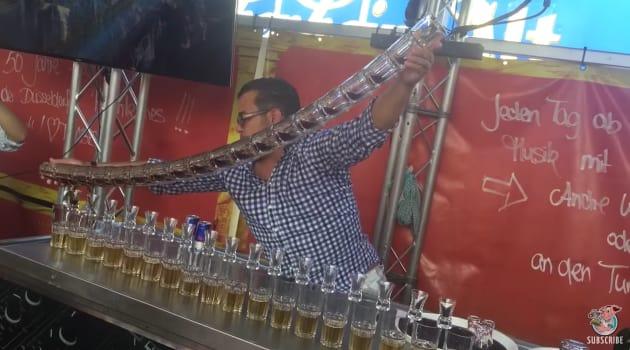talented bartender