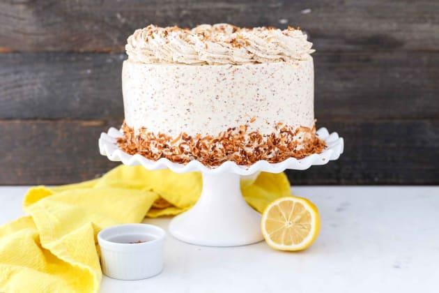Lemon Coconut Cake Photo