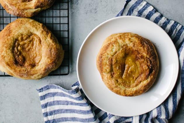 Pumpkin Cream Cheese Brioche Photo