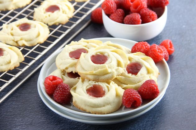 Raspberry Butter Cookies Photo
