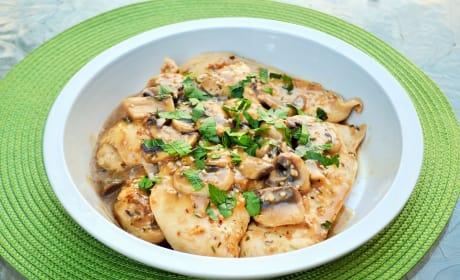Herbed Mushroom Chicken Recipe