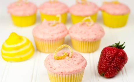 Strawberry Lemonade Cupcakes Image