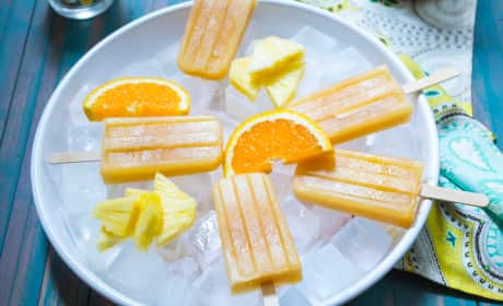 Rum Swizzle Popsicles Recipe