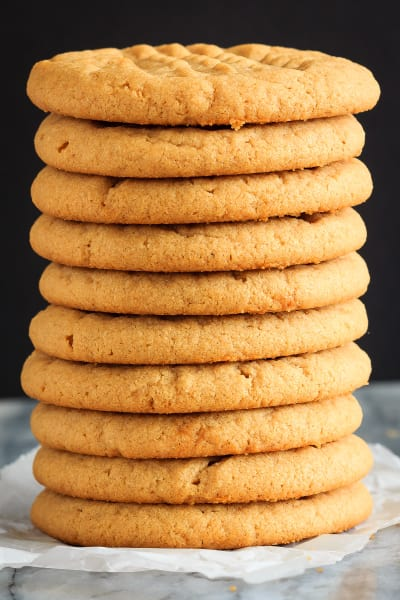 3 Ingredient Peanut Butter Cookies Pic