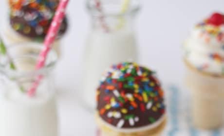 Ice Cream Cone Cupcakes Image