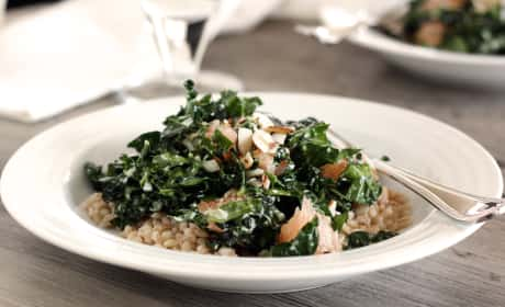 Kale Barley Salad Recipe
