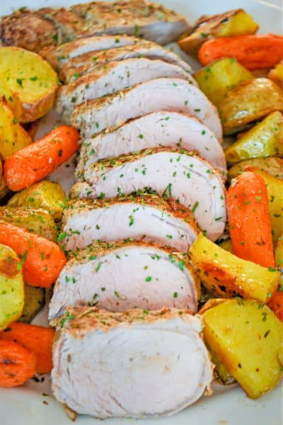 Rosemary Pork Tenderloin Sheet Pan Dinner Picture