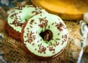 Baked Chocolate Mint Doughnuts