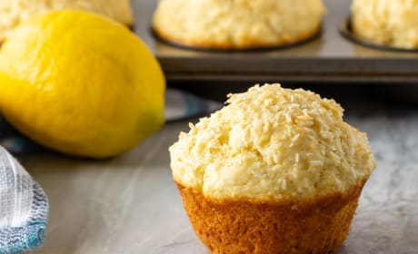 Lemon Coconut Muffins Recipe