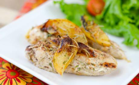 Pan-Seared Apple Chicken Recipe