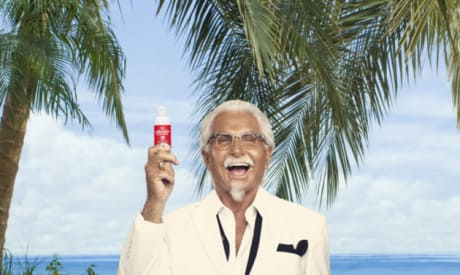KFC Comes Out with Chicken-Scented Sunscreen