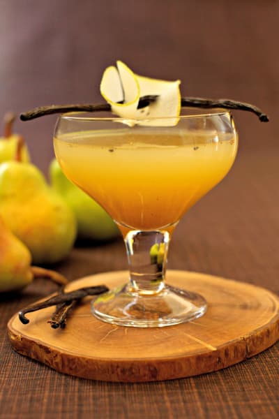 Pear Vanilla Martini Picture