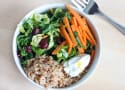 Shaved Brussels Sprout Grain Bowl