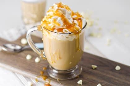 Boozy White Chocolate Milky Way Mocha