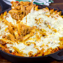 Supreme Pizza Pasta Bake Recipe