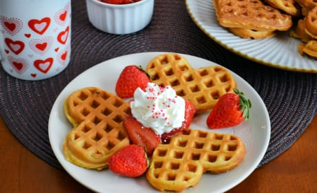Strawberry Waffles Image