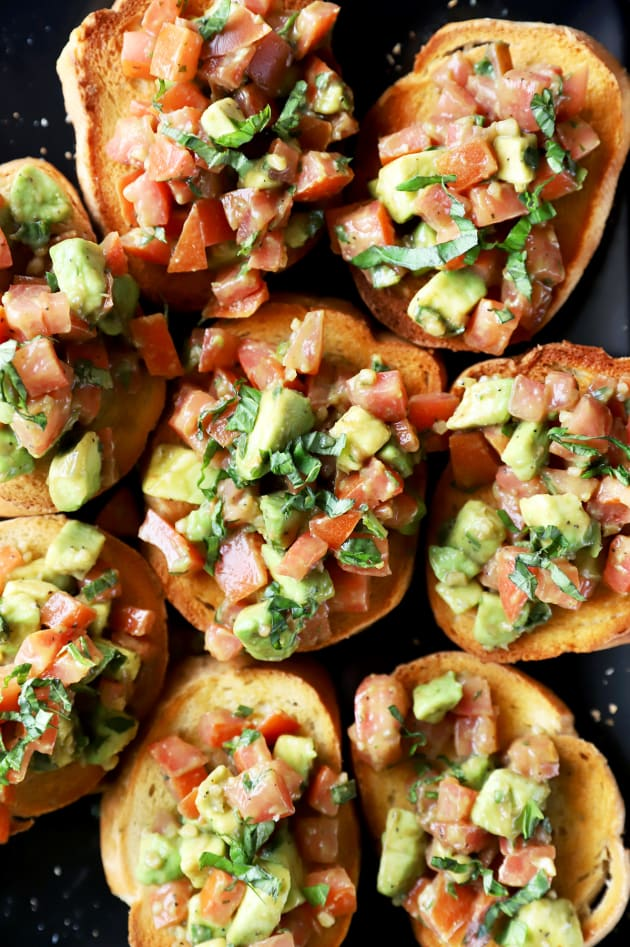 Avocado Bruschetta Image