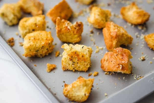 Toaster Oven Baked Croutons Photo