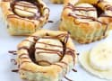 Banana Nutella Puff Pastry Cups
