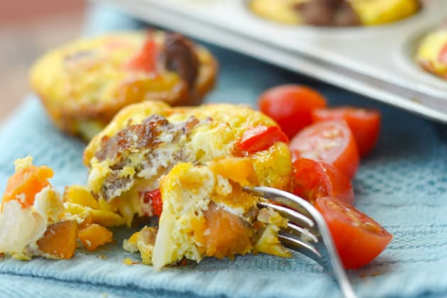 File 5 Gluten Free Sweet Potato & Sausage Egg Cups
