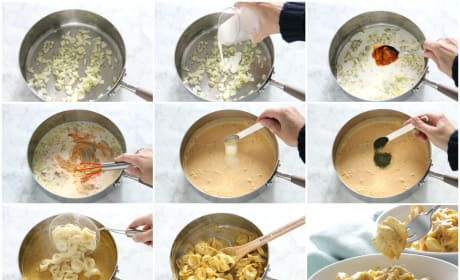 Creamy Pumpkin Tortellini Image
