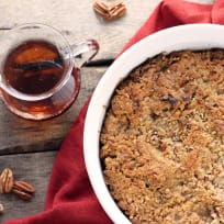 Maple Bread Pudding Recipe