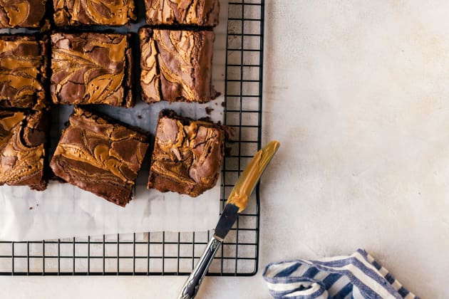 Peanut Butter Brownies Photo