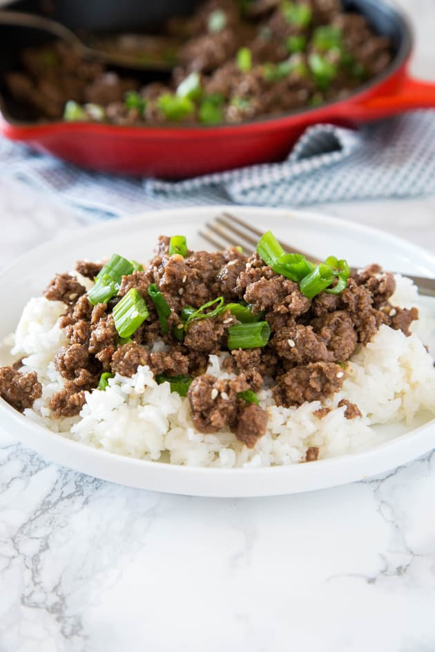Ground Mongolian Beef Pic