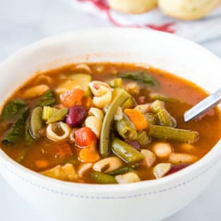 Olive garden minestrone soup photo