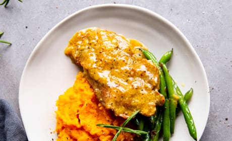 Instant Pot Honey Mustard Pork Chops Photo