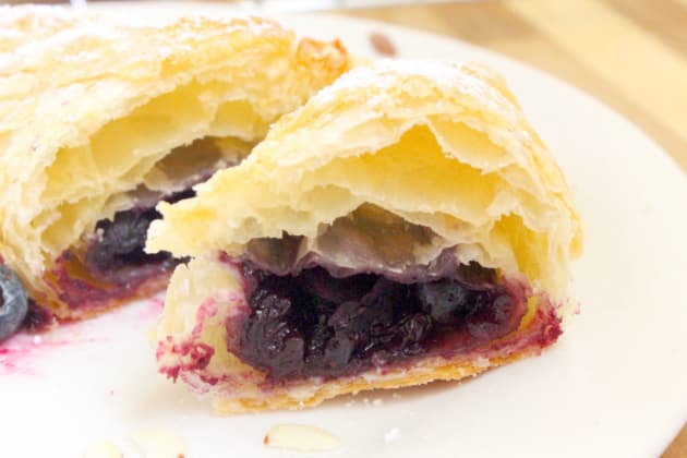 Blueberry Almond Turnovers Pic