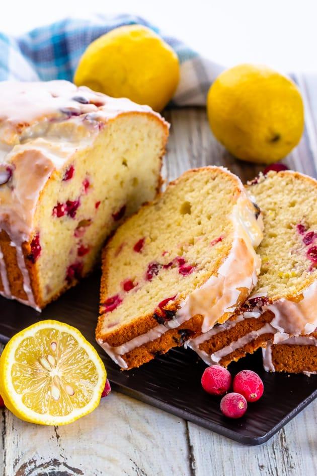 Lemon Cranberry Bread Picture