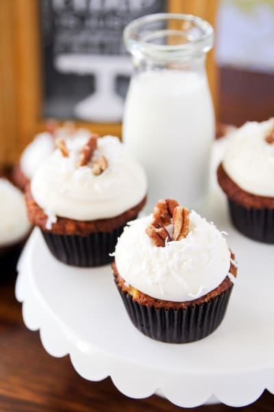 Carrot Cake Cupcakes Pic