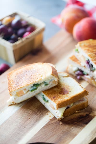 Chicken Grilled Cheese Picture