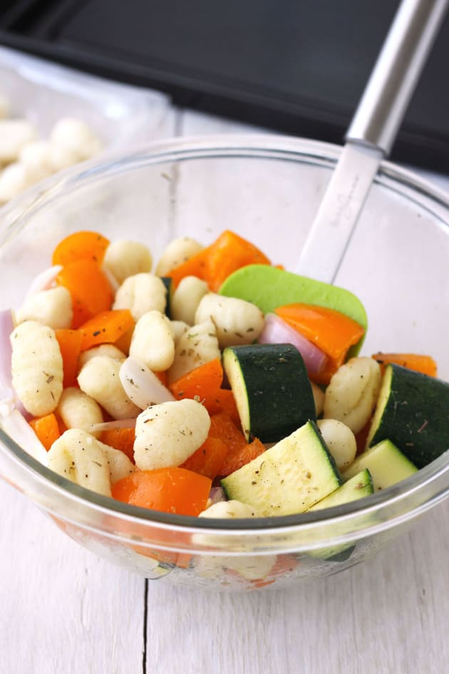 One Pan Roasted Gnocchi and Vegetables Picture