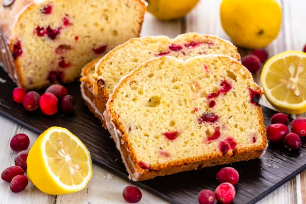 Lemon Cranberry Bread Photo