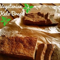 Keto Bread Without Eggs / Vegan - KetoPakistan.pk
