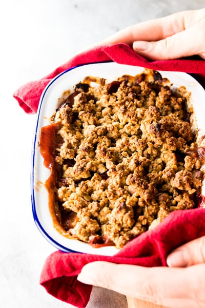 Healthy Cranberry Apple Crisp Picture
