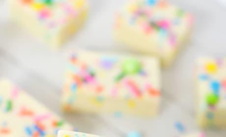 Gluten Free Cake Batter Fudge Image