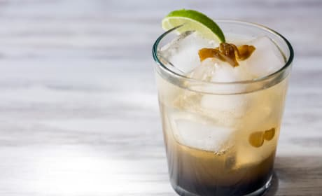 Spicy Ginger Rum Cocktail Recipe