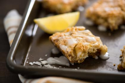 Lemon Coconut Dream Bars