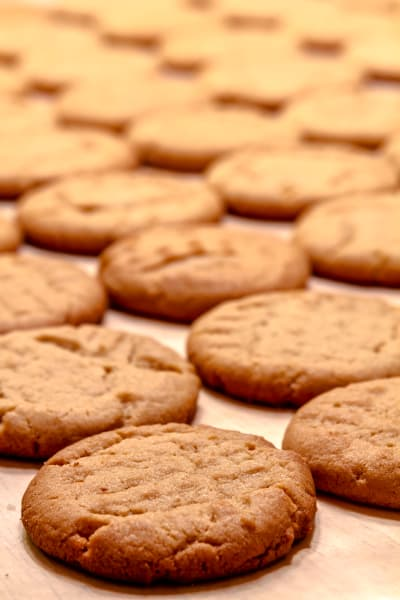 Maple Peanut Butter Cookies Picture