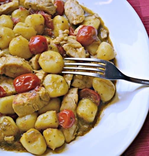 Chicken Pesto Gnocchi Picture