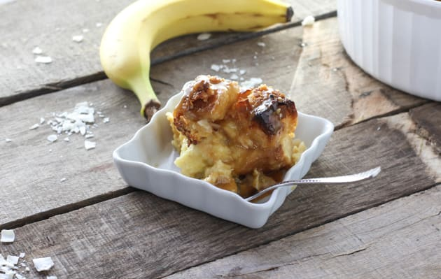 Coconut Banana Bread Pudding Picture